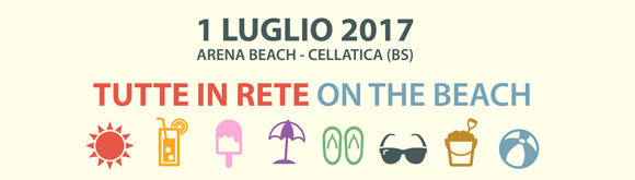 TUTTE IN RETE ON THE BEACH 2017
